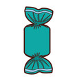 sweet confetii isolated icon vector image vector image