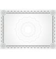 diploma certificate vector image