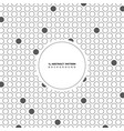 abstract circle gray dot pattern background vector image vector image