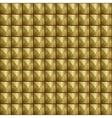 Abstract metallic texture wit metal pins vector image