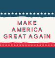 america alphabet set vector image vector image