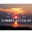 blurred background summer vector image