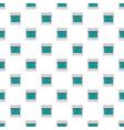 burner pattern seamless vector image vector image