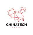 china tech connection logo icon vector image vector image