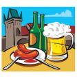 Czech beer vector image vector image