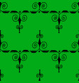 ethnic style ornament seamless pattern abstract vector image vector image