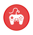game control isolated icon vector image