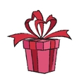 Isolated gift of birthday design vector image vector image
