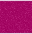 Seamless pattern with pink hearts background vector image vector image