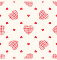 sketchy geometric seamless pattern with vector image