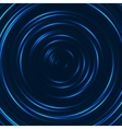 Spiral concentric lines circular rotating vector image vector image