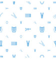 string icons pattern seamless white background vector image vector image