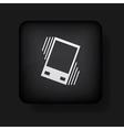 vibration button vector image