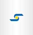 letter s business logo icon design vector image