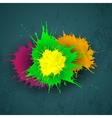 Abstract grunge watercolor background vector image