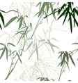 Bamboo Floral seamless pattern background vector image