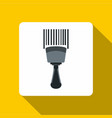 bar code scanner icon flat style vector image vector image