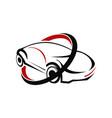 car logo design template vector image vector image