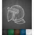 crash helmet icon vector image