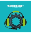 customer service design vector image vector image