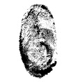 fingerprint 01 vector image