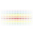 horned helmet spectral halftone grid vector image vector image
