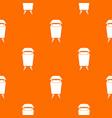 litter waste bin pattern seamless vector image vector image