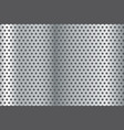 metal background perforated steel texture vector image
