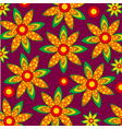 pattern from figures vector image vector image