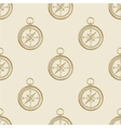 Compass vintage pattern sea naval background vector image