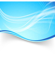Bright swoosh air lines folder background vector image