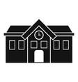 Chapel icon simple style vector image vector image