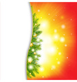 Christmas Background With Stars vector image vector image