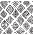 Ethnic rombs seamles pattern vector image