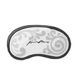 sleep mask sketch for your design vector image