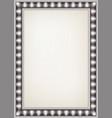vintage wood frame vector image