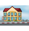 A large house vector image vector image