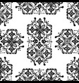 ethnic style ornament seamless pattern abstract vector image