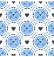Fashion background with arrows and circles vector image vector image
