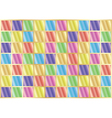 grid with color squares vector image vector image