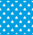 origami mountain pattern seamless blue vector image vector image
