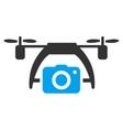 Photo Drone Icon vector image vector image