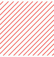Red white diagonal stripe pattern background