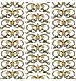 seamless flourishes classic victorian decoration vector image