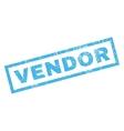 Vendor Rubber Stamp vector image vector image