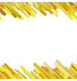yellow seamless trendy gradient diagonal rounded vector image vector image