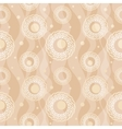 Abstract beige seamless pattern vector image vector image