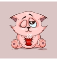 Cat Good morning vector image vector image