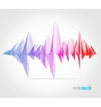 equalizer colorful musical bar vector image vector image