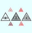 eye of god vector image